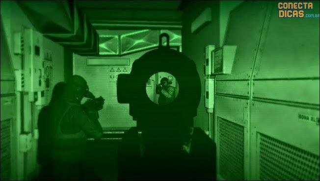 GTA V Assaltos - visão noturna