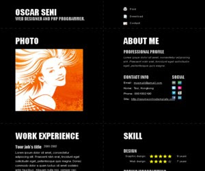 Deep Typography Blogger Template