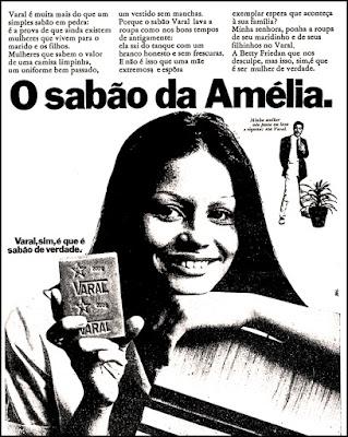 sabão para lavar roupa Varal, os anos 70; propaganda na década de 70; Brazil in the 70s, história anos 70; Oswaldo Hernandez;