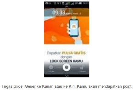 PopSlide : Aplikasi Android Penghasil Pulsa