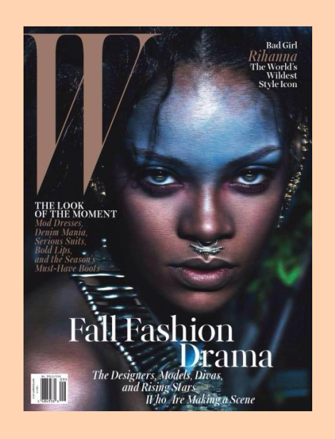 Rihanna Covers W Magazine September 2014