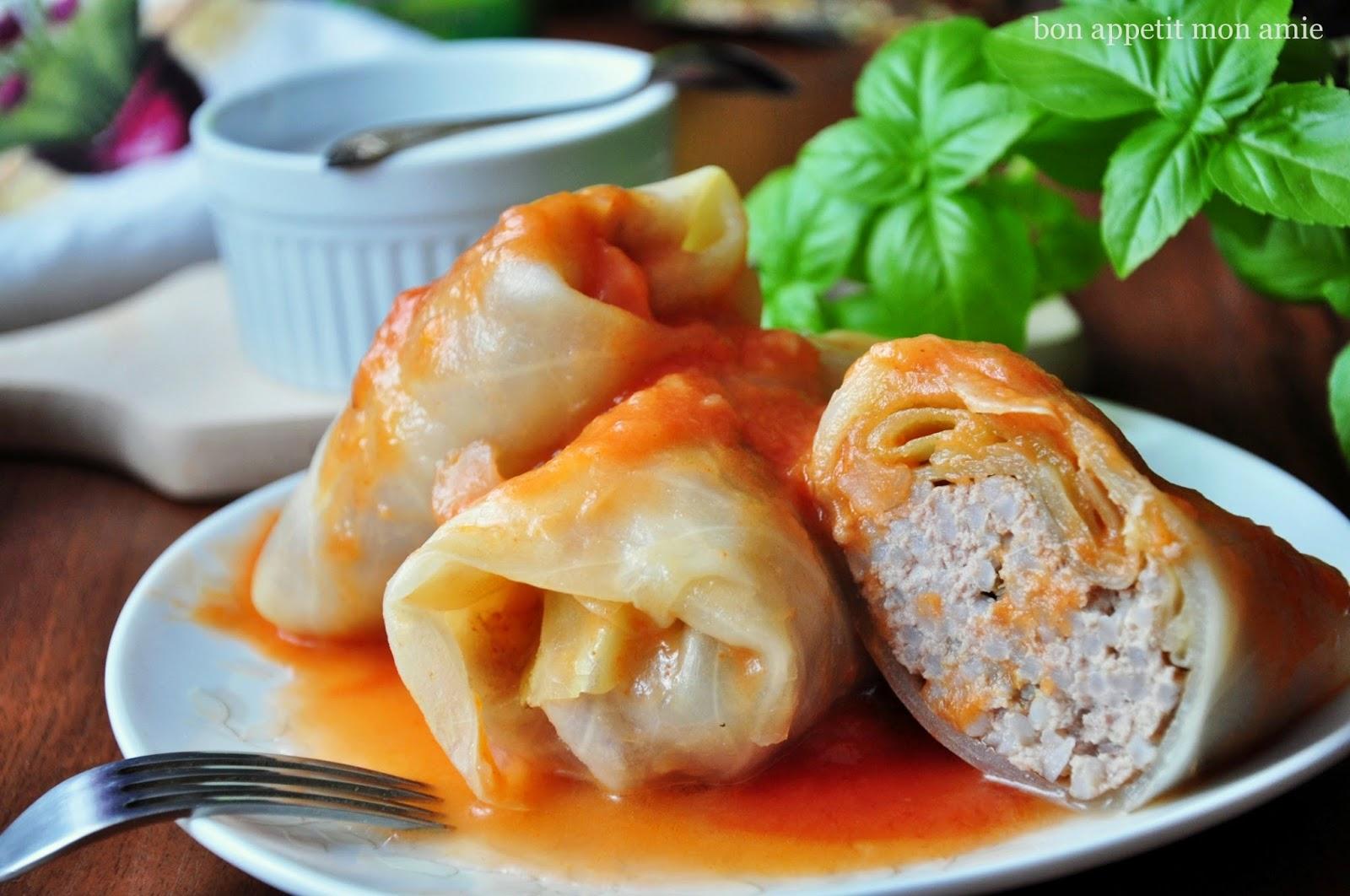 Bon Appetit Mon Amie Tradycyjnie I Po Polsku Gołąbki W