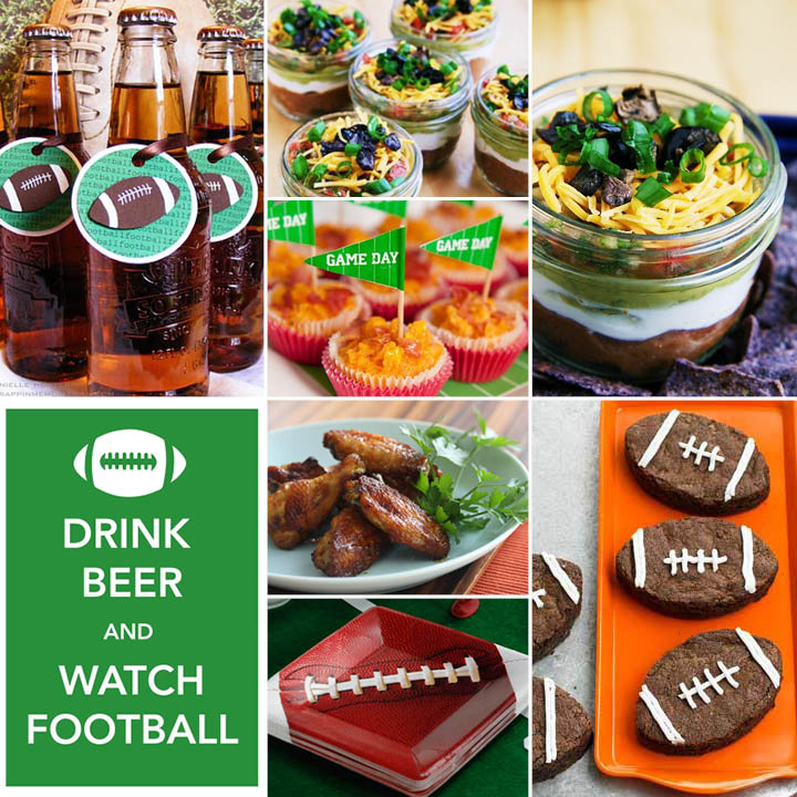 Artful Expression Super Bowl Party Ideas