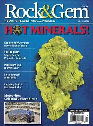 Rock & gem magazine july 2015
