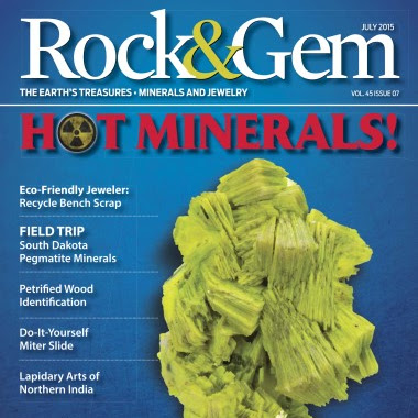 Rock & Gem Magazine | July 2015  Download