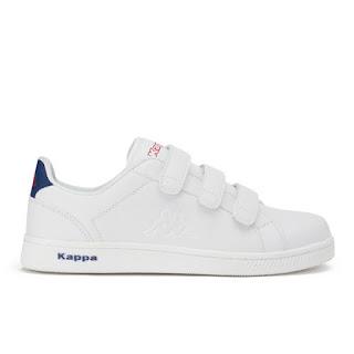 Zapatillas para hombre Giorno V de Kappa - Blanco/Marino/Rojo