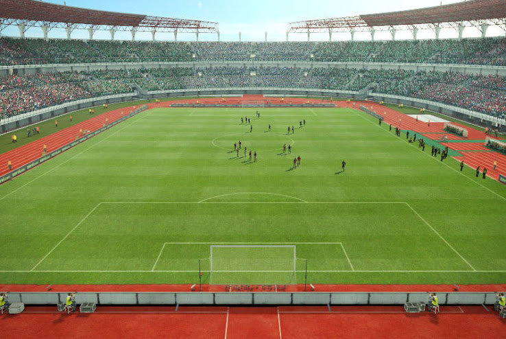 PES 2013 Gelora Bung Tomo Stadium by Wisnufris