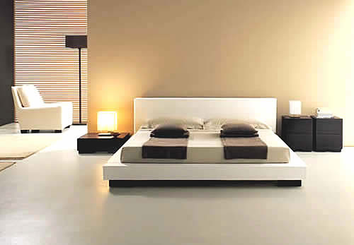 Home interior design and decorating ideas minimalist home for Minimalist single bedroom