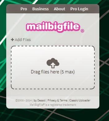 Panduan hantar fail besar ke emel lain