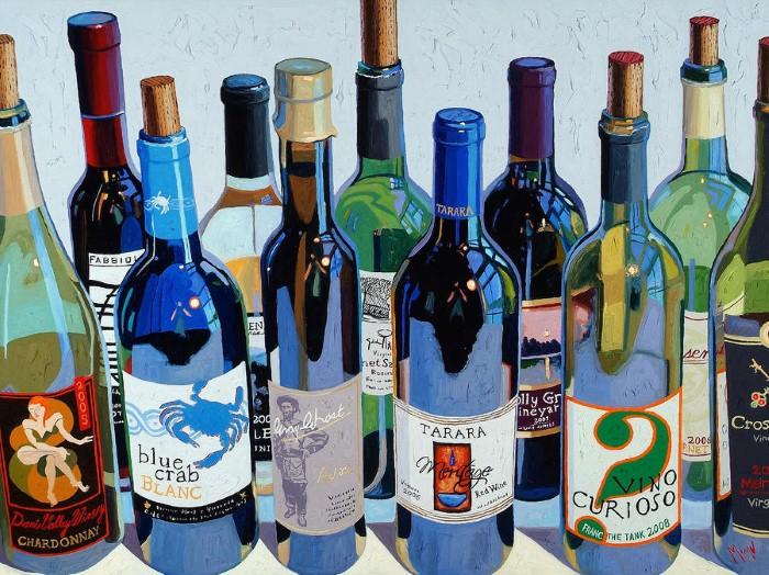 Художник виноделия