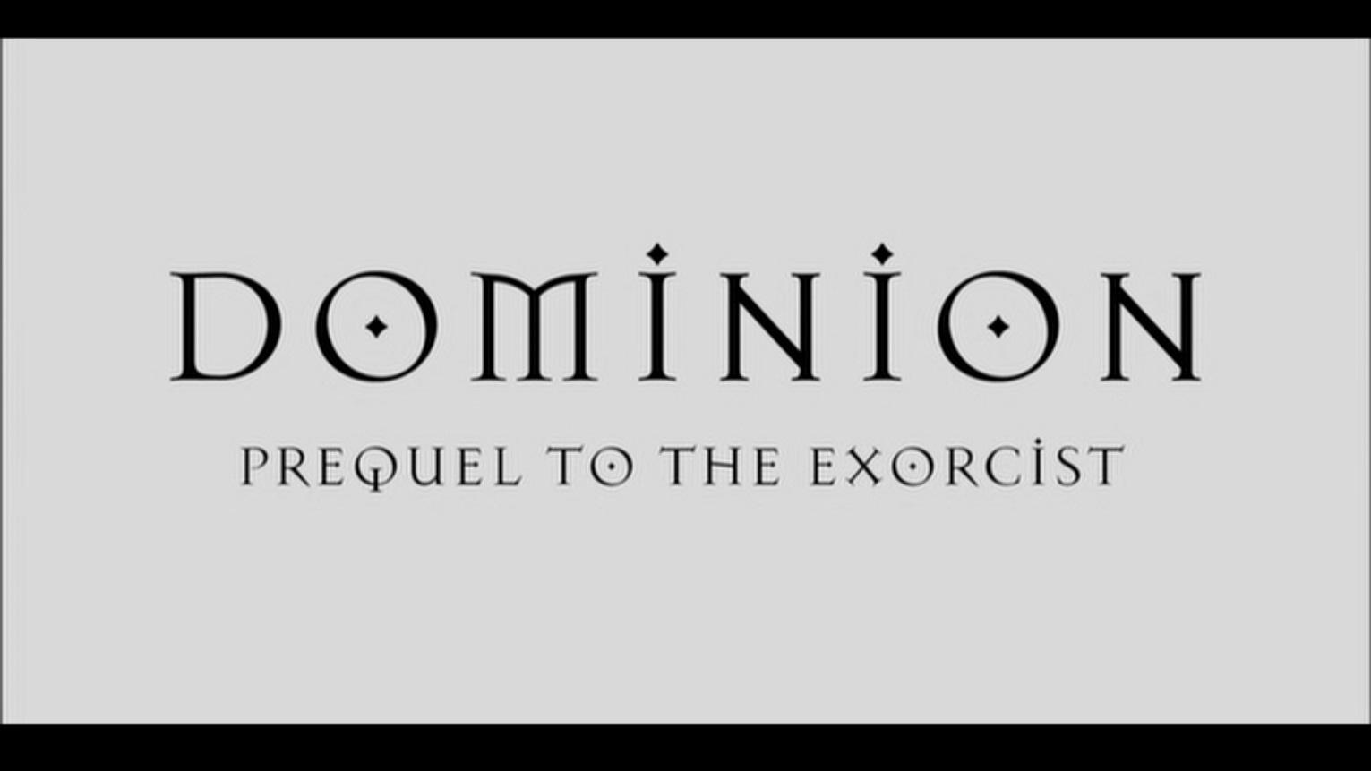 Dominion  Prequel to t...