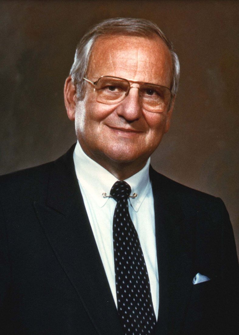 Lee iacocca of chrysler corporation