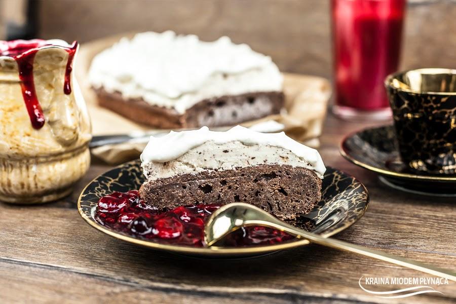 semifreddo, lodowy tort, lodowe ciasto, lody straciatella, lodowa straciatella, semifreddo straciatella, deser lodowy, zimny deser, zimny tort,  tort na walentynki, wyjątkowy tort, kraina miodem płynąca, food&friends, food & friends magazyn, thermomix