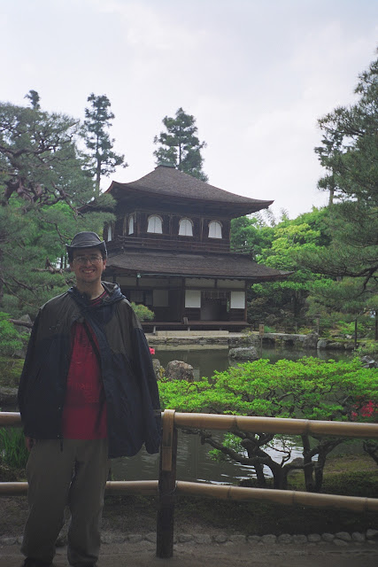 Me at Ginkaku-ji in Kyoto