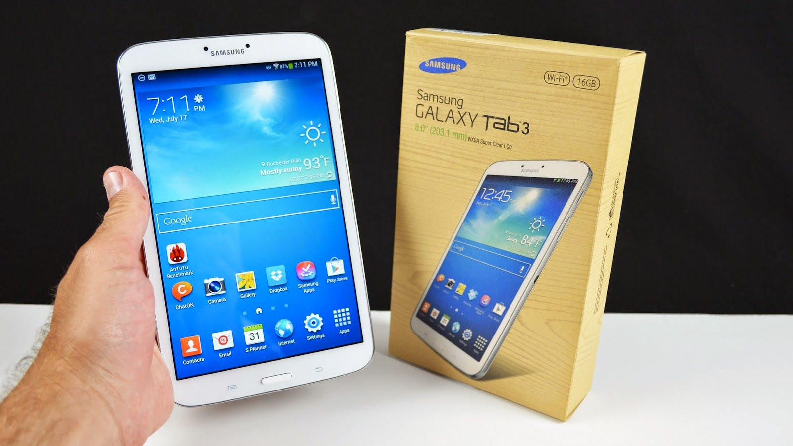 Samsung Galaxy Tab 3 V Reviews - Updatetech