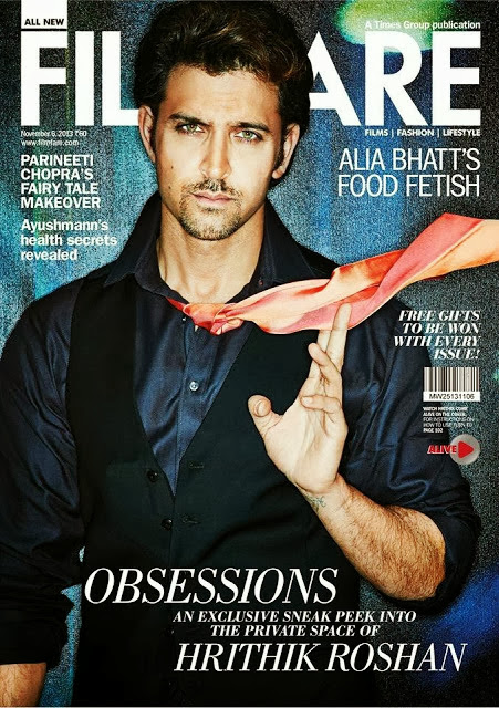 Hrithik Roshan's Filmfare Magazine Photoshoot