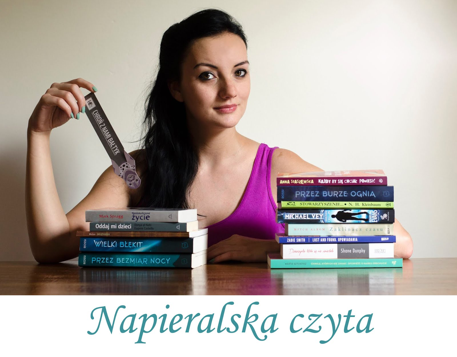 Napieralska czyta