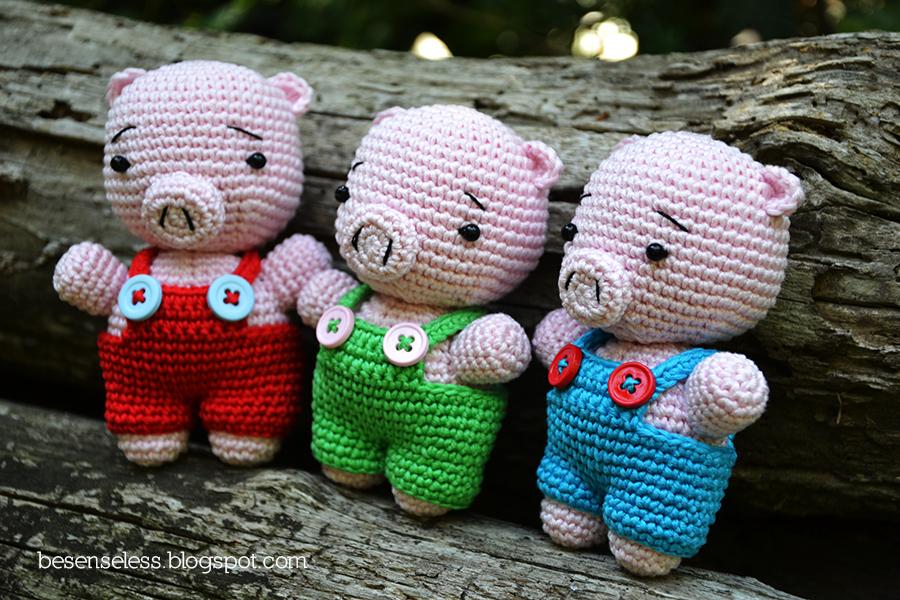 Amigurumi To Go Crochet Along Pig : Belle novit? Airali