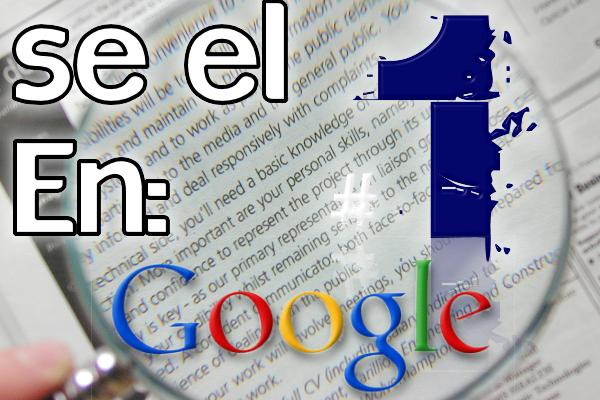 Se el #1 en Google
