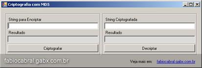 Criptografando com C#