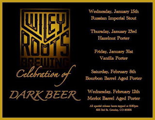 Wiley Roots Celebration of Dark Beer