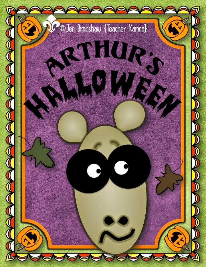 Arthur's Halloween by Marc Brown FREEBIE.  TeacherKarma.com