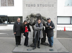 Toho Studios, February 2014