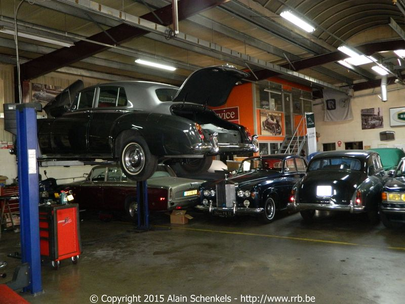 Rolls royce bentley site archive garage americo paris for Garage sda argenteuil