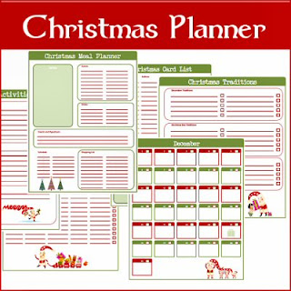 Typical English Home: Freebie Thursday: Christmas Planner Printables