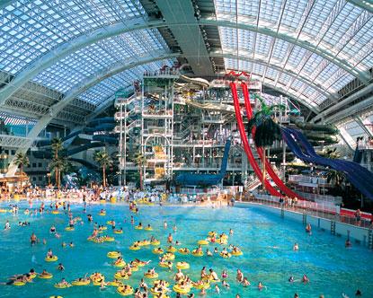 mount gilead biggest indoor water park