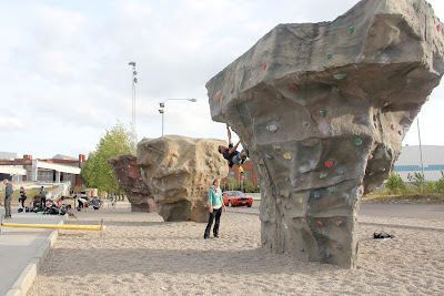 rock climbing in Malmo