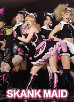 Ayu looks a skank on her ~HOTEL love songs~ tour | Snapped