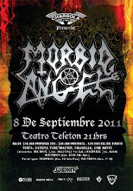 MORBID ANGEL EN CHILE 2011