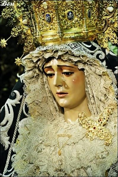 Besamanos Virgen de La Candelaria Sevilla 2014