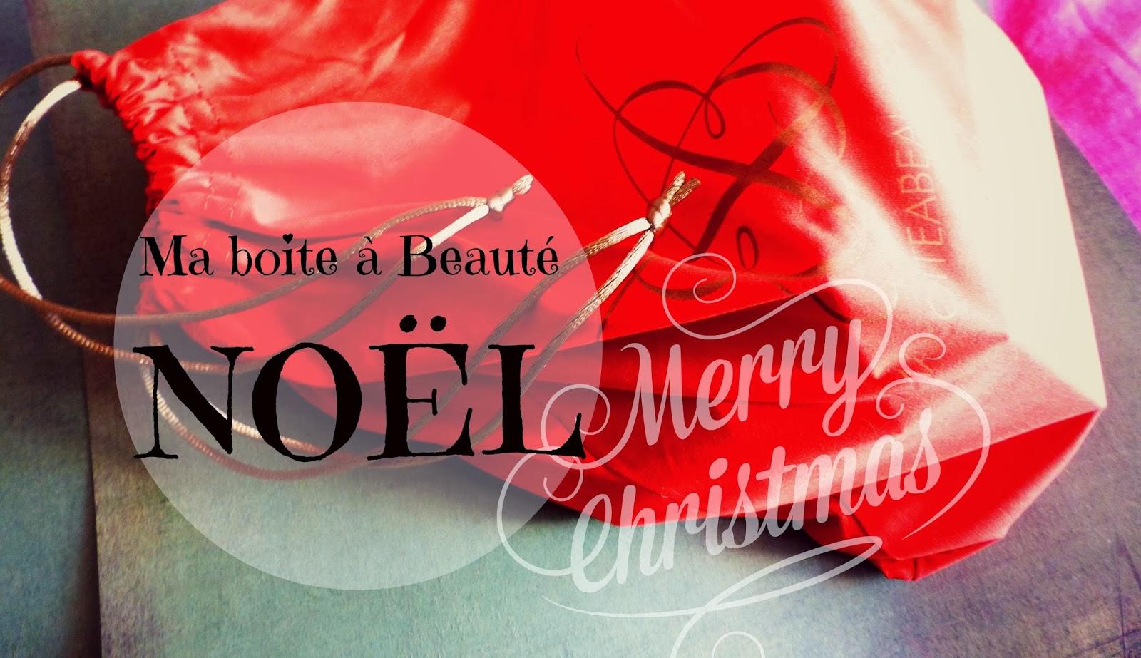 Ma Boite à Beauté spécial Noël