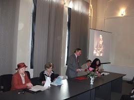 Aspect din timpul sesiunii de comunicări de la  Muzeul de Istorie, 24.I.2012...