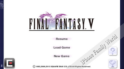 FINAL FANTASY V 1.0.0 - iphone family world | iphone family