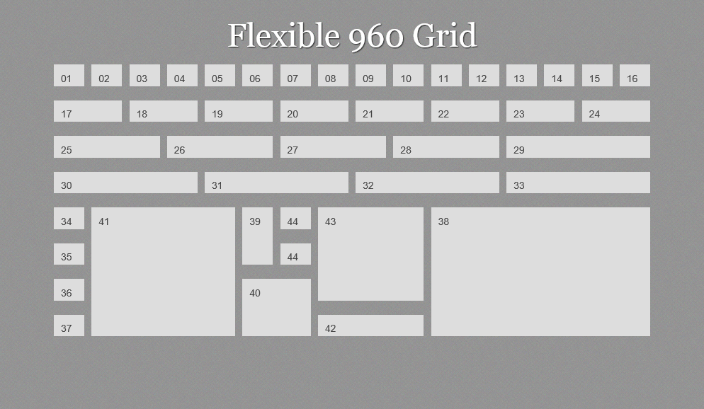 B creative giving content priority with css3 grid layout for Html css grid
