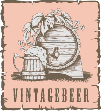 Free Download Vintage Beer Vector