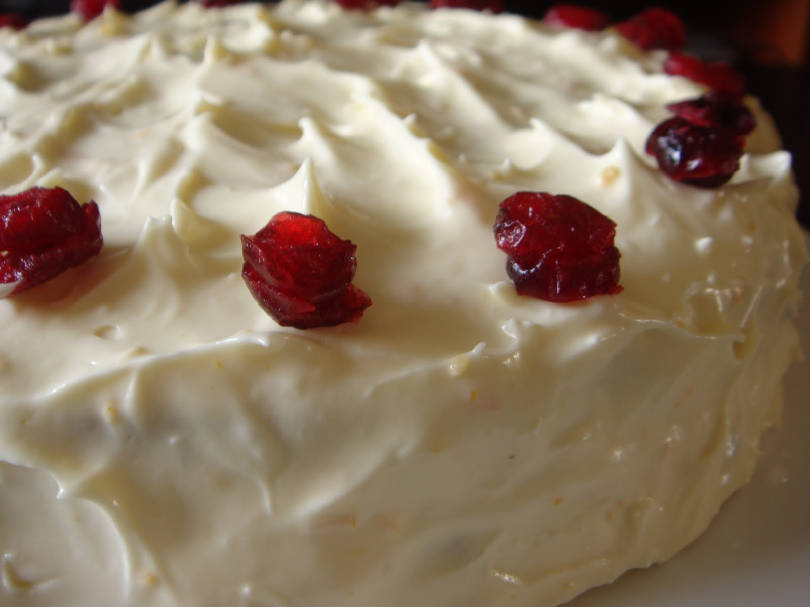 Cream Cheese Frosting Birthday Cake Cream cheese frosting was