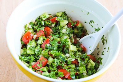 Kalyn's Kitchen®: Middle Eastern Tomato Salad or Salad Shirazi
