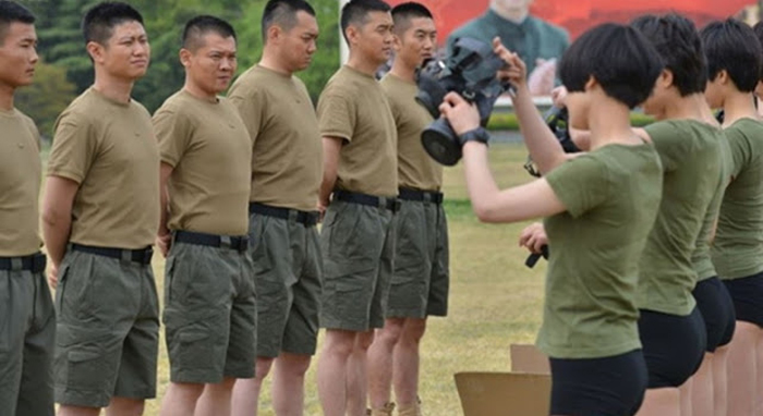 Tentara Perempuan China