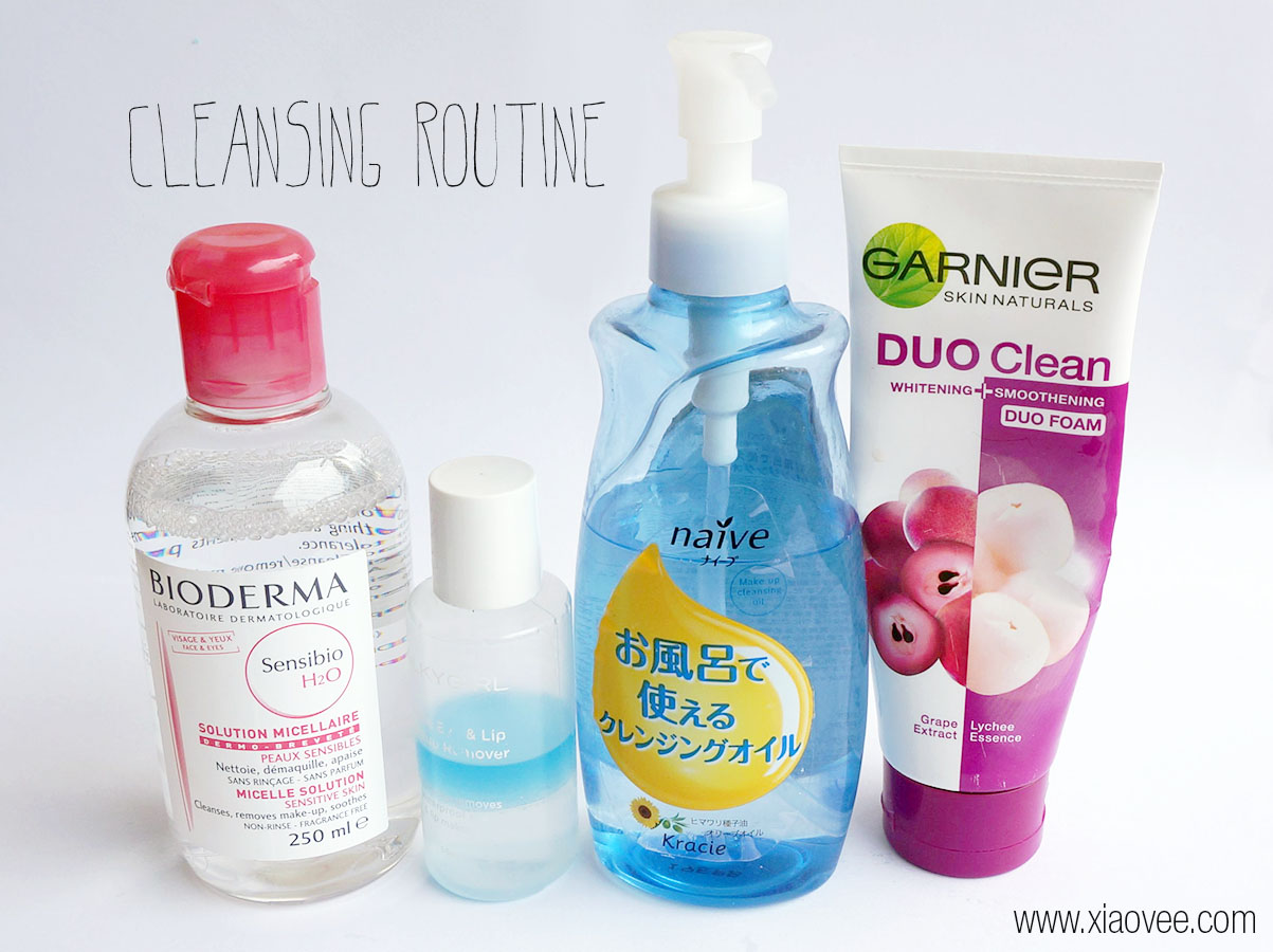 Recommended cleansing product, cleansing routine for normal combination skin type, cleansing product for normal combination skin type