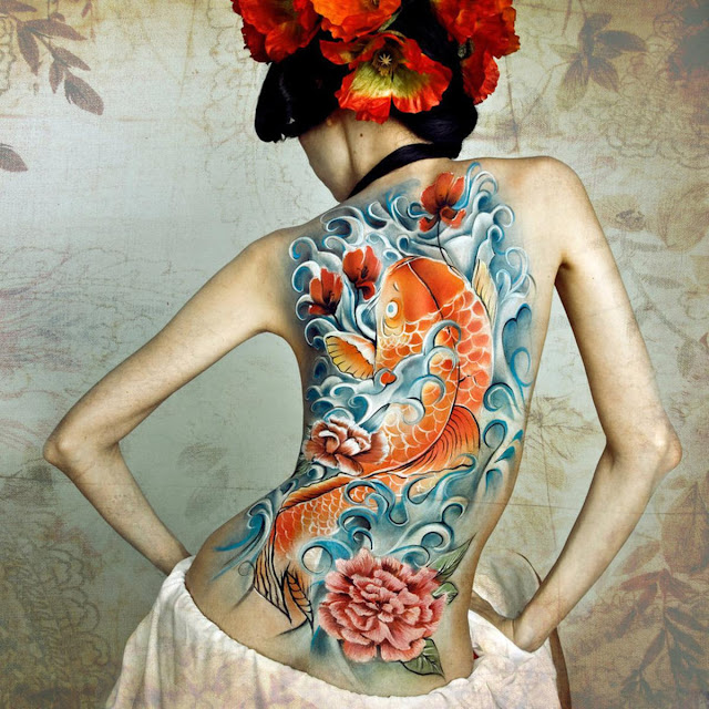 Japanese tattoo designs for women