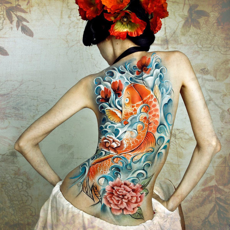 Japanese tattoo designs for women : title=