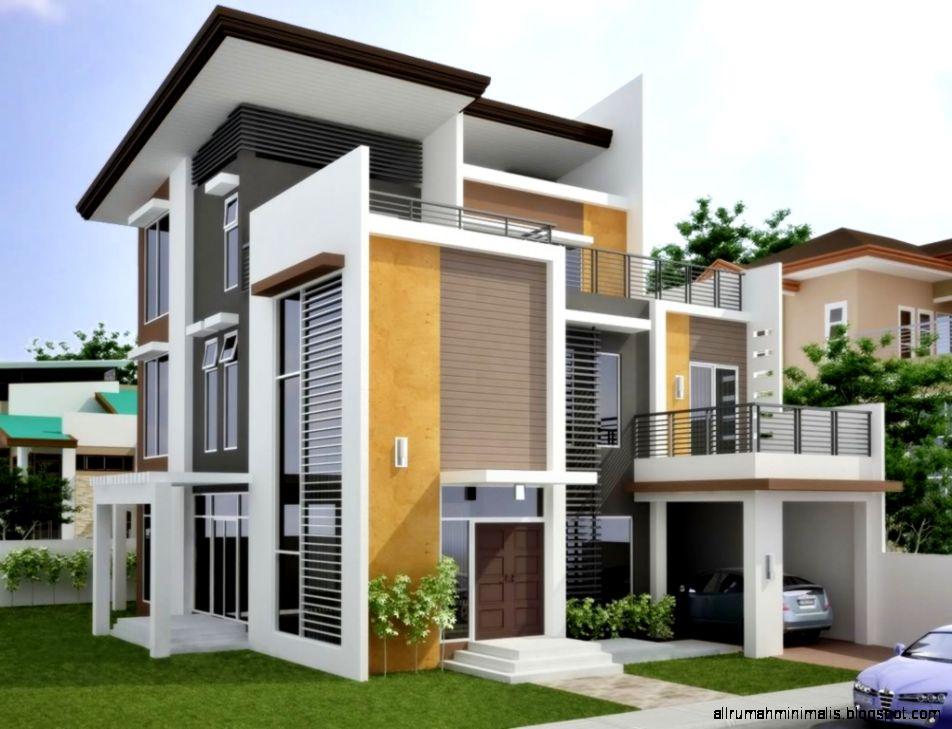 30 Inspirasi Desain Rumah Minimalis Fasad Modern Asianpaints New