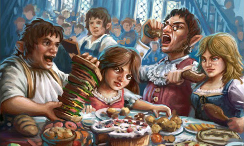 Halfling Feast Card Game Review