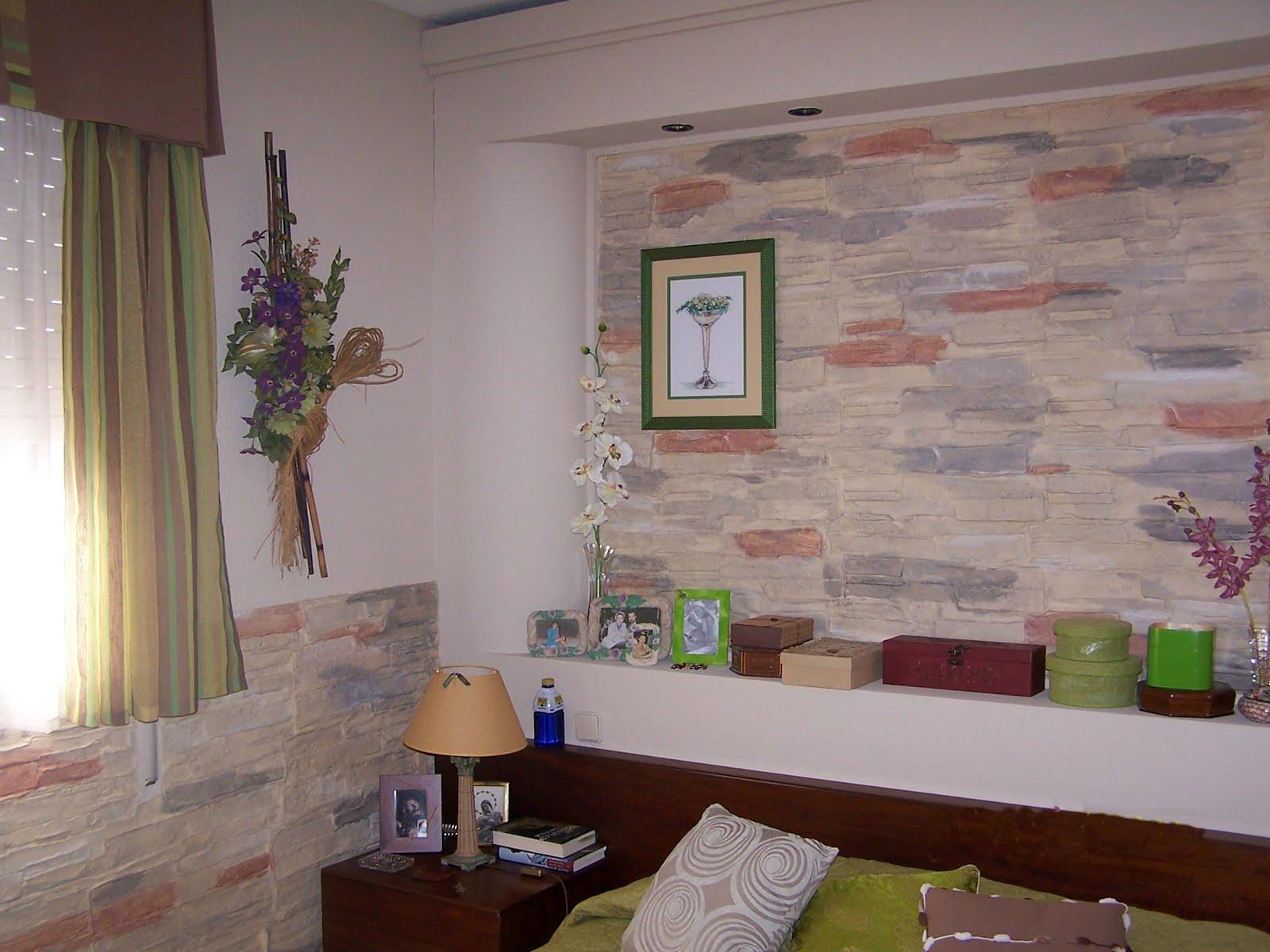 Pinturas en general y tallados con texturas de piedra for Alta decoracion