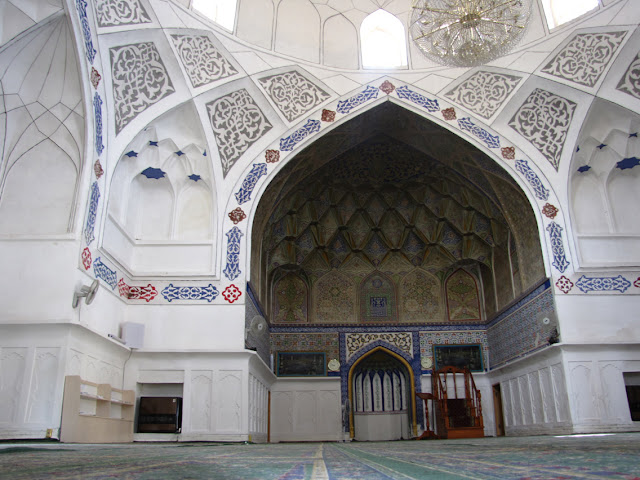 Uzbekistán, Bujara - mezquita Bolo Hauz
