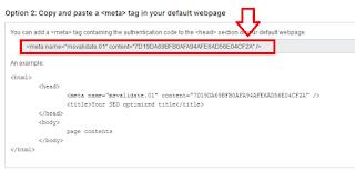 CAra mendaftarkan blog ke bing webmaster tool terbaru